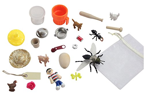 [OBJECTS ONLY - CVC Alphabet Object Set - CVC Words Alphabet Objects and Cards - Language Tubs Miniatures- Montessori Miniture Objects for CVC] (Animals That Start With The Letter E)