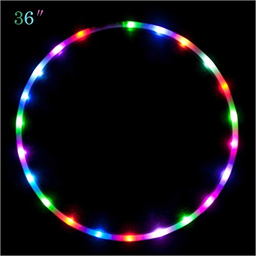 Led Light Up Hula Hoops in US - 1