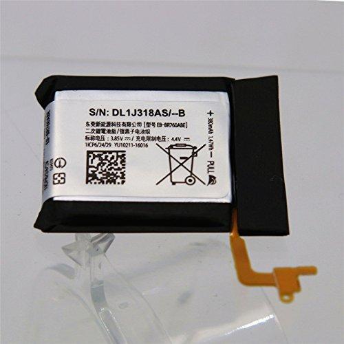 SIDAQU EB-BR760 Battery for Samsung Gear S3 Frontier, Gear S3 Classic EB-BR760A 380mAh GH43-04699A by SIDAQU