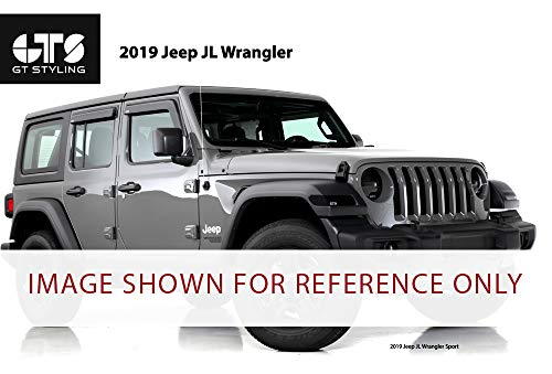 GT Styling GT0645TX Carbon Fiber Turn Signal Covers Fits 2018-2019 Jeep Wrangler JL/JLU Rubicon, ()