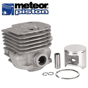 Meteor Piston & Cylinder Assembly (48mm) for Husqvarna 365 Chainsaws by Meteor Piston