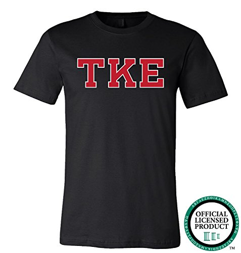 TAU KAPPA EPSILON | Red Letters - Licensed Unisex T-shirt