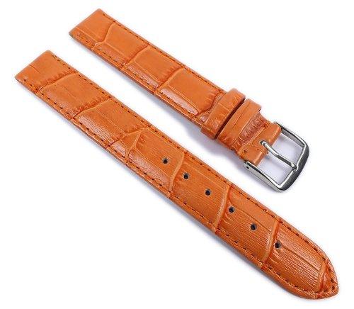 Louisiana Print XL Ersatzband Uhrenarmband Leder Aprikose 21910S-XL, Anstoß:12 mm