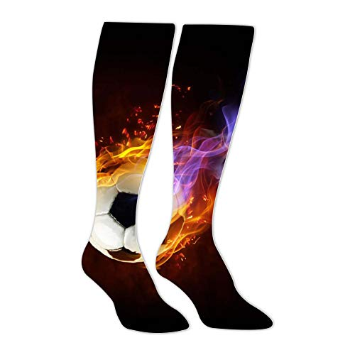 Knee High Stockings Football Soccer Long Socks Sports Athletic for Man and Women -