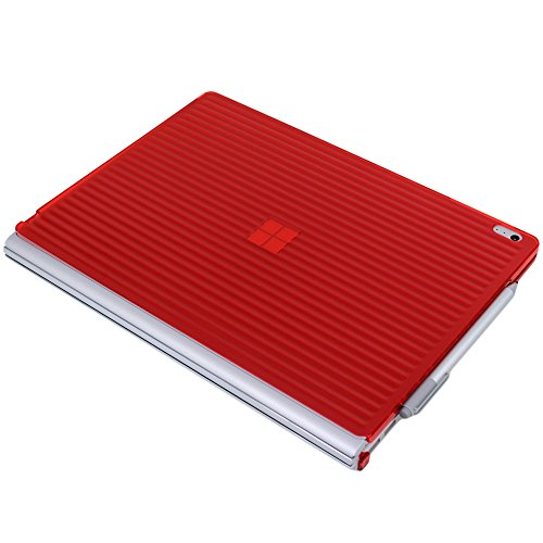 iPearl mCover Hard Shell Case for 13.5-inch Microsoft Surface Book Computer (Red) Photo #3