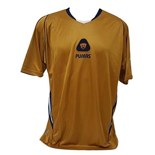871cc04bd Pumas de la UNAM Men s Soccer Gold Jersey Size X-Large Official Licensed new