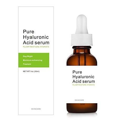 Dermapeel Pure hyaluronic acid serum skin care facial care hyaluronic acid moisturizer-100% Pure,Anti-Aging Serum-Intense Hydration+Moisturizer,Non-greasy,Paraben Free