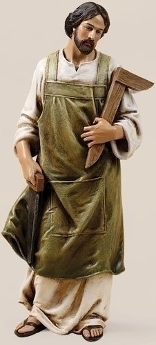 Roman, 10'' ST JOSEPH THE WORKER FIG