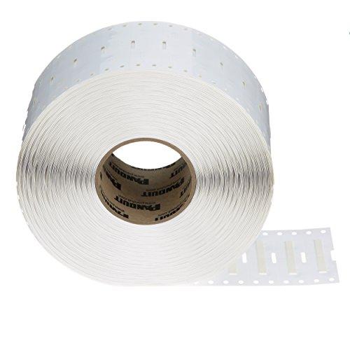 - Panduit H100X025H1T-B ThermTrans Heatshrink Tubing Labels, 1.00