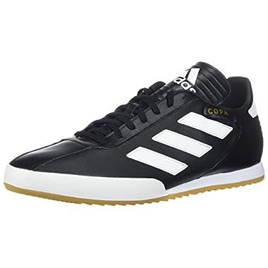 new style a34d4 14b71 adidas Originals Mens Copa Super Soccer Shoe, BlackWhiteGold Metallic 10  M