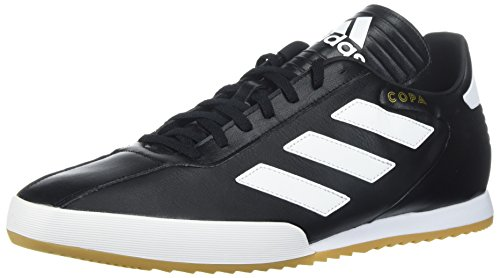 Adidas Originals Men's Copa Super Soccer Shoe, Black/White/Gold Metallic, 9.5 M - Black Gold Original And