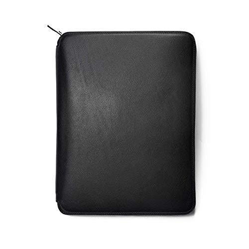 (Maverick & Co. Genuine Full-Grain Leather Padfolio Portfolio Holder, 13
