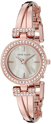 Anne-Klein-Womens-AK2238RGST-Swarovski-Crystal-Accented-Rose-Gold-Tone-Bangle-Watch-and-Bracelet-Set
