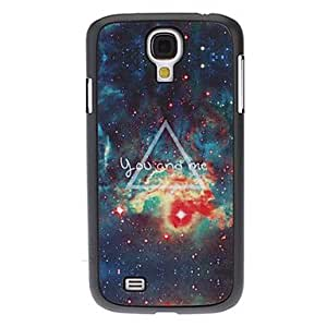 Nsaneoo - Triangle in Fire Pattern Hard Case for Samsung Galaxy S4 I9500