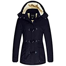 Wantdo Womens Winter Coat Cotton Parka Jacket