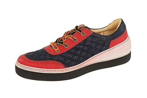 Eject Damenschuhe - sportliche Schnür- Halbschuhe FEELING Rot