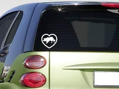 (Yilooom Heart Border Collief344 Sticker Decal Sheep Sheer Clippers Shepherd Vinyl Die Cut Bumper Sticker Decals for Car Window Laptop)