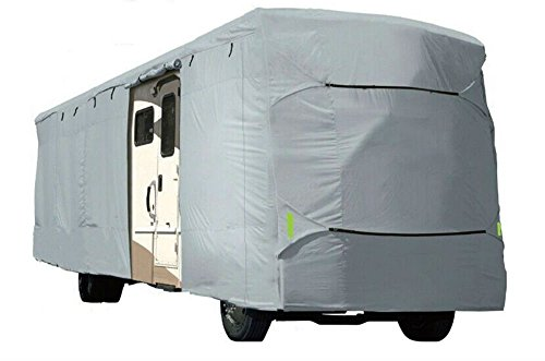 Deluxe Vented RV Motorhome Camper Travel Trailer Covers UV Resistance 25', 26' by Unknown