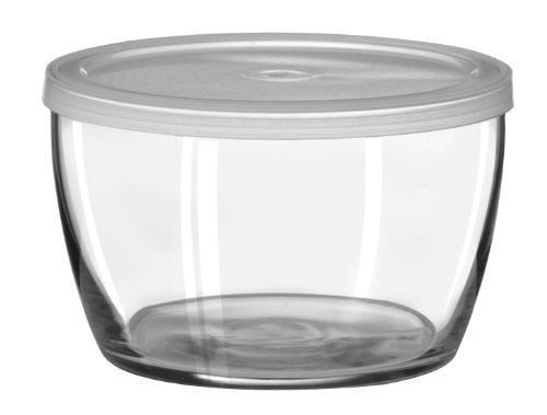 - Libbey 16-Ounce Bowl with Plastic Lid, Set of 12