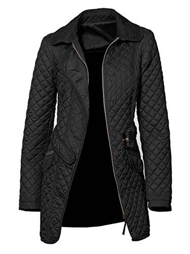 Heine–Best Connections Chaqueta de mujer chaqueta acolchada Negro Tamaño 36