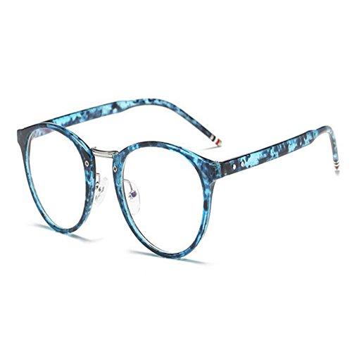 Deylaying Computadora Hombres clara Lente Vintage Azul azul Claro Lector fatiga Mujer Filtrar Luz Anti Gafas RrRqf