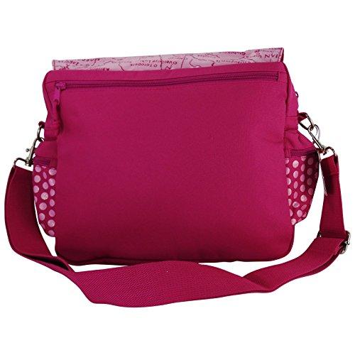 Betty Boop Borsa Pink Donna Tracolla Cartella a Spalla