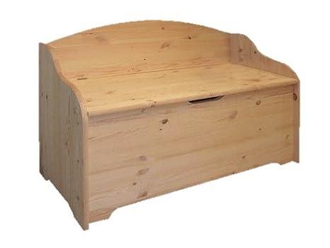 Baule Legno Fai Da Te : Baule cassapanca in legno massello l xp xh cm amazon