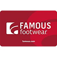 $50 Famous Footwear Gift Card