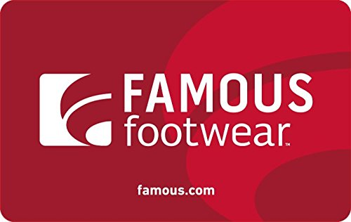 Extra $10 off promotional code for Famous Footwear Gift Cards at Amazon.com