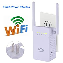 LURICO TV Network Adapter / Wireless WiFi Repeater / 300Mbps USB 2.4GHz Network Router Wifi Range Extender,Complies with IEEE 802.11B/G/N Standards