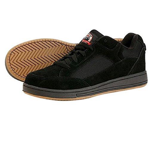 brahma-mens-grate-steel-toe-skate-black-lace-up-leather-slip-resistant-sneaker-size-8