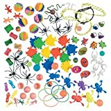 100 pc small toy assortment- great for crane game refills and prizes, Health Care Stuffs