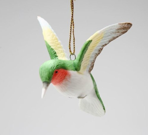 Cosmos Gifts B9021 Ceramic Hummingbird Ornament, 3-Inch