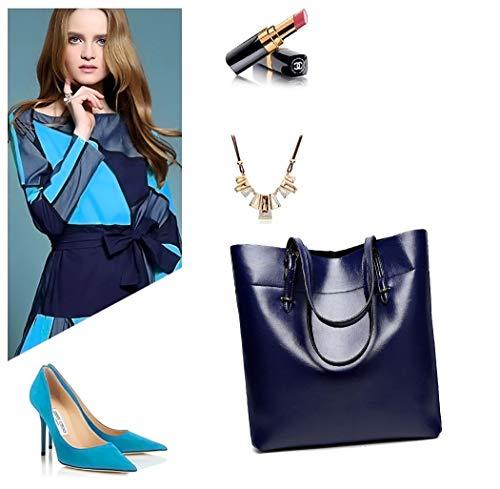 Mujer de bandolera y Carteras hombro Shoppers Azul bolsos clutches de mano Bolsos y rnH8OFZrWa
