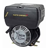 Hatz Diesel Engine with Electric Start - 7 HP, 1in. x 2.84in. Shaft, Model# 1B30X-9904