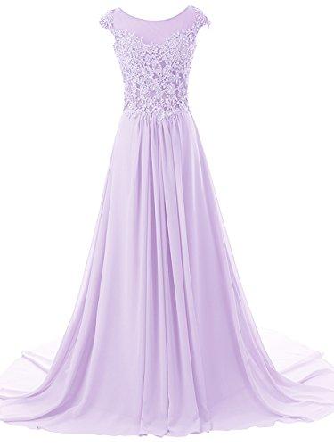 Lilac Wedding Dress - 1