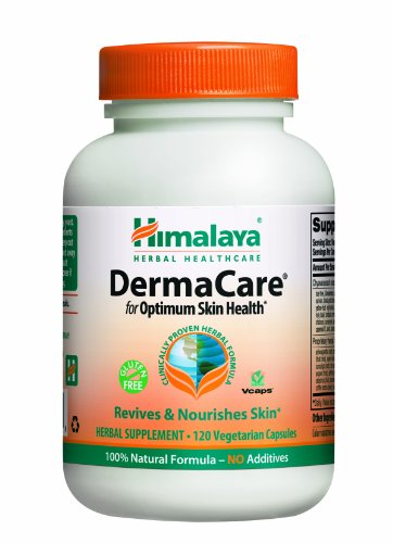 Himalaya Herbal Healthcare DermaCare, Skin Support, 120 Vegetarian Capsules, (Pack of 2)