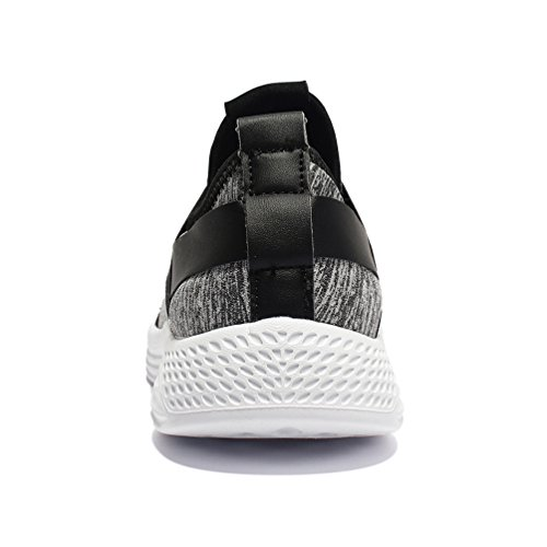 Baskets De Sport Jindeng Slip Chaussures Gris Gym Pied Mens Course Lger Casual Trainers On Tw4qwZBF