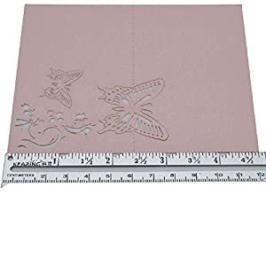 10Pcs 9X12Cm Butterfly Folding Type Laser Cut Heart Shape Table Name Card Place Card Wedding Party Decoration Favor 4