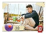 One Direction trading card #47 Zayn Malik