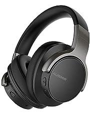 Ausdom ANC8 Auriculares Bluetooth 4.0 con cancelacion de ruido activa (micrófono incorporado, batería litio recargable de 400 mAh, negro)