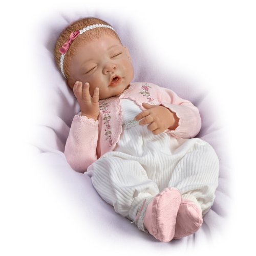 Baby Doll: Sweet Dreams, Little Ava So Truly Real by The Ashton-Drake Galleries by The Ashton-Drake Galleries (Image #3)