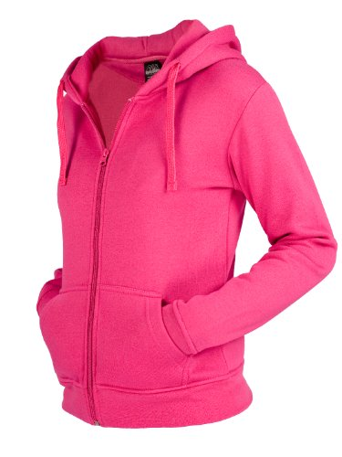 "Urban : ""Ladies Zip Hoody"" taille: M, couleurs: fuchsia …TB079"