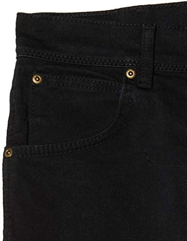 Wrangler męskie dżinsy Durable Stretch - Regular Fit - Black - Rinsewash - Darkstone - Stonewash - Dark Stonewash: Odzież