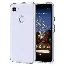 Spigen Liquid Crystal Designed for Google Pixel 3a Case (2019) - Crystal Clear