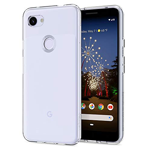 Spigen Liquid Crystal Designed for Google Pixel 3a Case (2019) - Crystal Clear