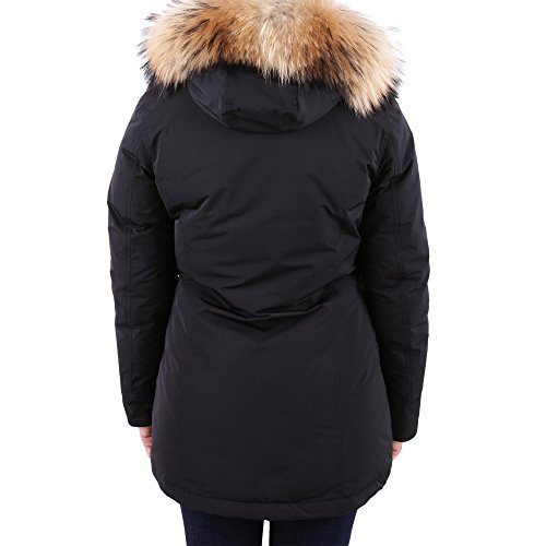 Poliestere Outerwear Woolrich Nero Donna Giacca Wwcps2604cf40100 1ROZq