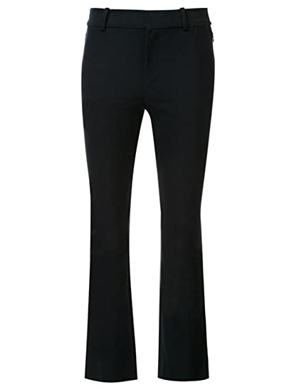 Flare 10 Cropped Derek Lam Women's Trouser Hem Wembroidered Crosby TuXOZiPk