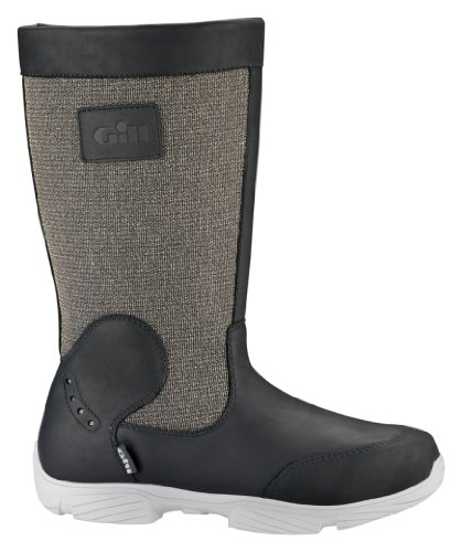Gill amp; LAST Kevlar 913 Leather UK Deck 7 Boots PAIR Breathable wPfErP