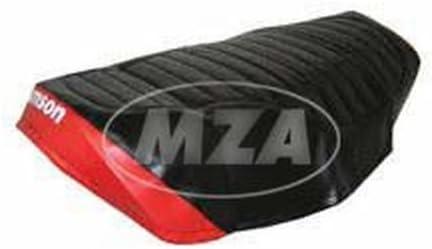 strukturiert SR80 wasserdicht Sitzbezug SIMSON schwarz//rot SR50
